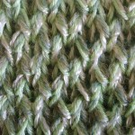 photo tricot modèle tricot nid d abeille explication point 10