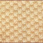 photo tricot modèle tricot nid d abeille explication point 17