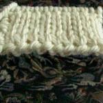photo tricot modèle tricot nid d abeille maille 10
