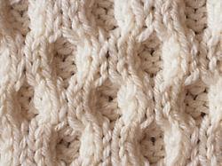 photo tricot modèle tricot nid d abeille maille 11