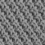 photo tricot modèle tricot nid d abeille maille 15