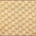 photo tricot modèle tricot nid d abeille maille 17