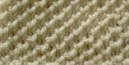 photo tricot modèle tricot nid d abeille maille 2