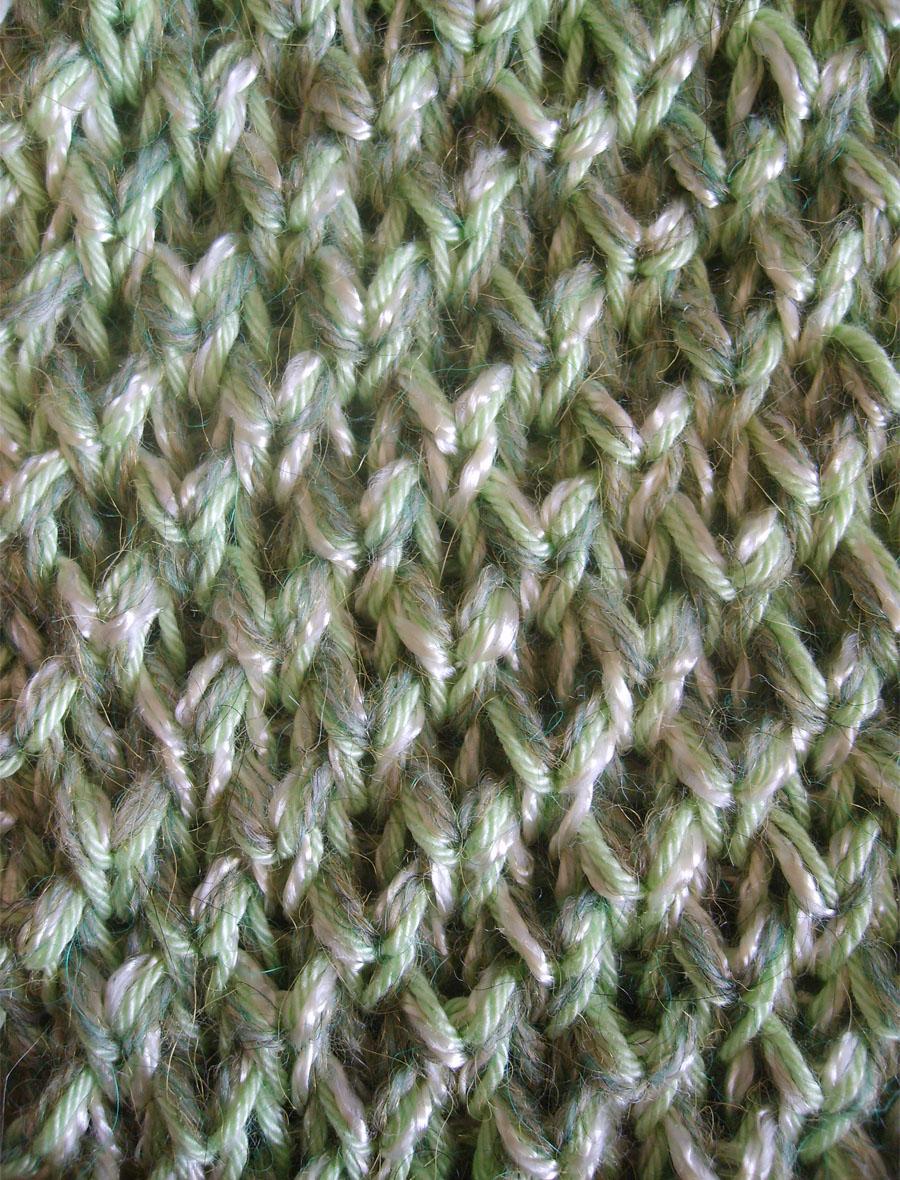 photo tricot modèle tricot nid d abeille maille 3