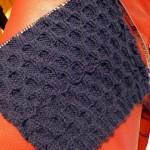 photo tricot modèle tricot nid d abeille maille 5