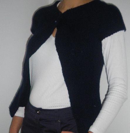 photo tricot modèle tricot point de riz kcal 11