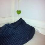 photo tricot modèle tricot point de riz kcal 16