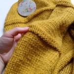 photo tricot modèle tricot point de riz kcal 17