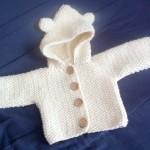 photo tricot modèle tricot point de riz kcal 3