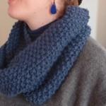 photo tricot modèle tricot point de riz kcal 5