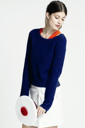 photo tricot modèle tricot point de riz kcal 7
