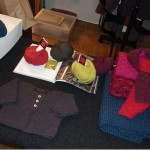 photo tricot modèle tricot point de riz luce smits 11