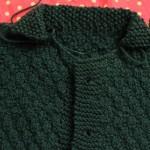 photo tricot modèle tricot point de riz luce smits 3
