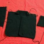 photo tricot modèle tricot point de riz luce smits 4