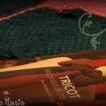 photo tricot modèle tricot point de riz luce smits 6
