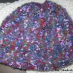photo tricot modèle tricot point de riz quaker 9