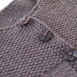 photo tricot modèle tricot point de riz simple 5