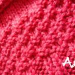 photo tricot modèle tricot point de riz simple 6