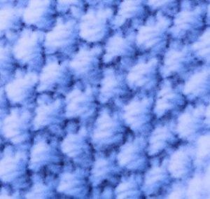 photo tricot modèle tricot point de riz terminer 13