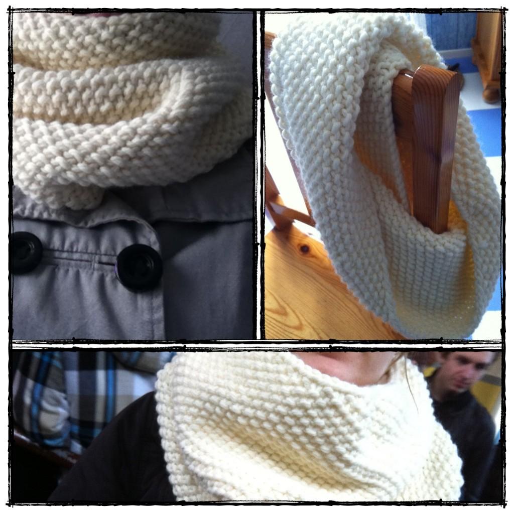 photo tricot modèle tricot point de riz terminer 7