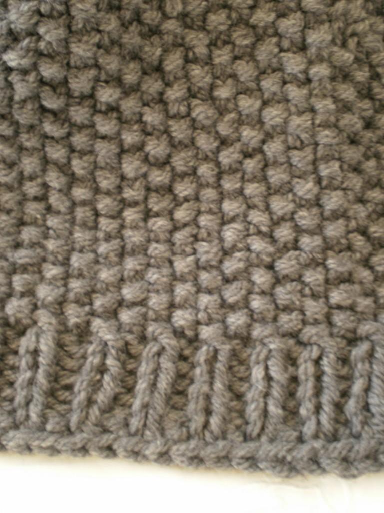 photo tricot modèle tricot point de riz vie 3