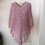 photo tricot modèle tricot poncho 11