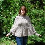 photo tricot modèle tricot poncho 15