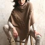 photo tricot modèle tricot poncho 3