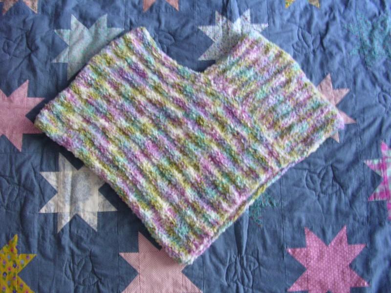 photo tricot modèle tricot poncho 7