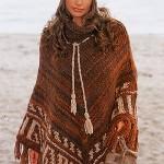 photo tricot modèle tricot poncho 9