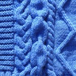 photo tricot modèle tricot snood irlandais 12