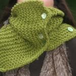 photo tricot modèle tricot snood irlandais 18
