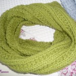photo tricot modèle tricot snood nombre mailles 5