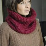 photo tricot modèle tricot snood pour homme 12