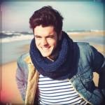 photo tricot modèle tricot snood pour homme 8