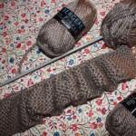 photo tricot modèle tricot snood soi meme 14
