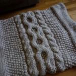 photo tricot modèle tricot snood soi meme