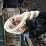 photo tricot modèle tricot snood soi meme 7