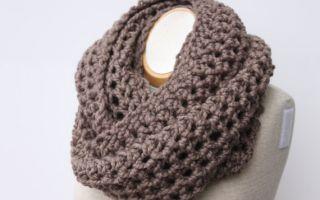 tricoter un snood soi meme
