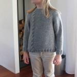 photo tricot modèle tricot torsade jersey 17