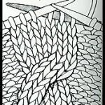 photo tricot modèle tricot torsade realiser 18