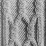 photo tricot modèle tricot torsade realiser 5