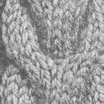 photo tricot modèle tricot torsade realiser 7