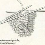 photo tricot modèle tricot torsade realiser 9