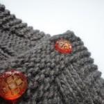 photo tricot modèle tricot tour de cou torsade 12
