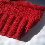 photo tricot modèle tricot tour de cou torsade 13
