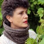 photo tricot modèle tricot tour de cou torsade 4