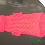 photo tricot modèle tricot tour de cou yorkshire 2