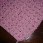 photo tricot modèle tricoter bébé une couverture 13