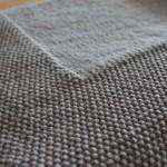 photo tricot modèle tricoter bébé une couverture 5
